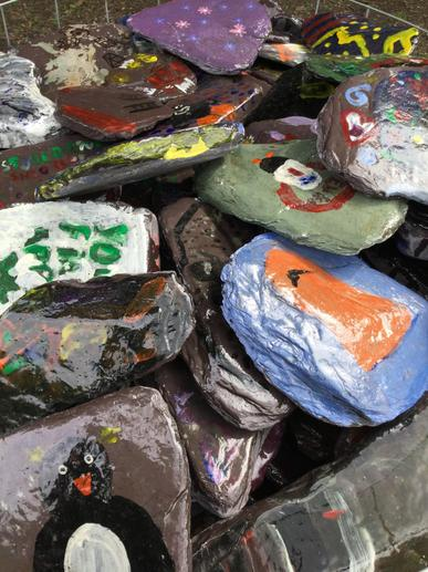 Last_year_everyone_painted_rocks_for_the_path